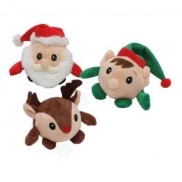 Croci Palla Peluche di Natale per Cani