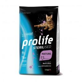 Prolife Cat Sterilized Mature Manzo e Riso