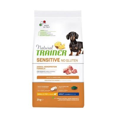 Trainer Natural Sensitive No Gluten Adult Mini con Maiale