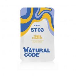 Natural Code Sterilised Tonno e Quinoa per Gatti
