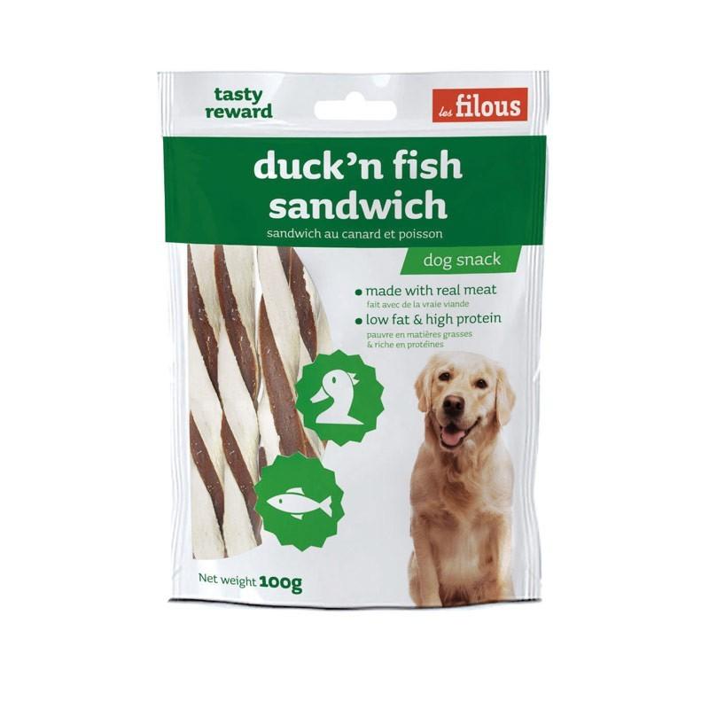 Les Filous Sandwich Anatra e Pesce
