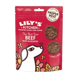 Lily's Kitchen Snack Beef Mini Burger