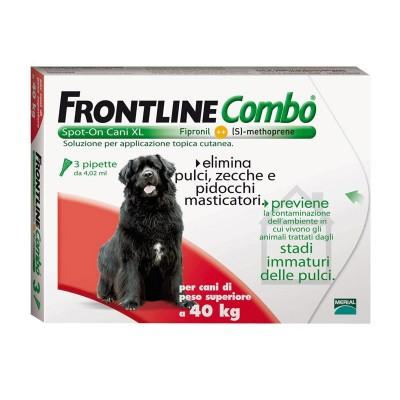 Frontline Combo superiore a 40 kg per Cani