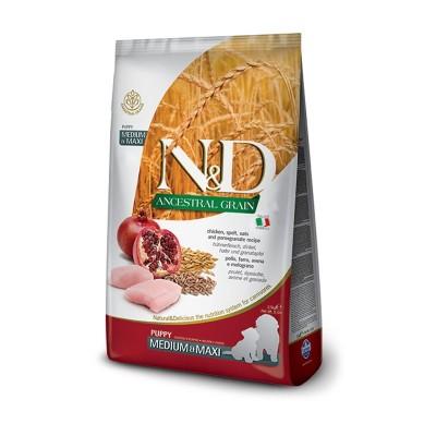 Farmina N&D Low Grain Puppy Medium Maxi Pollo e Melograno