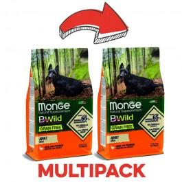 Monge BWild Grain Free Adult Mini Anatra e Patate