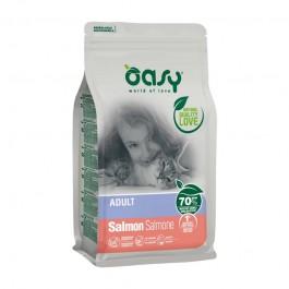 Oasy Adult al Salmone per Gatti