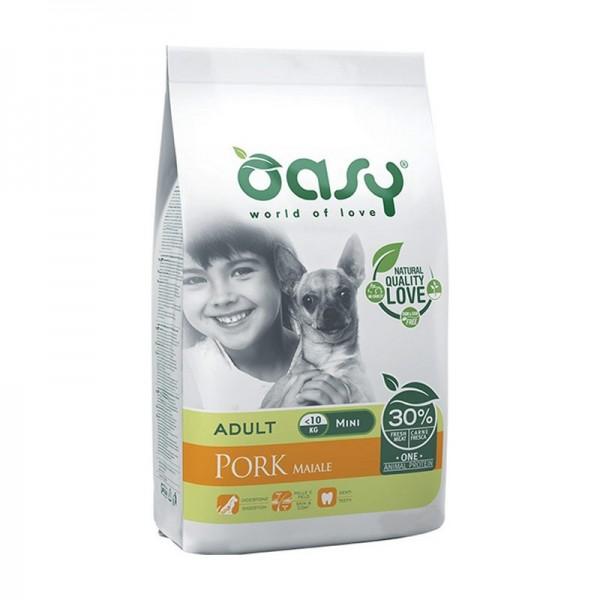 Oasy One Protein Adult Mini al Maiale per Cani