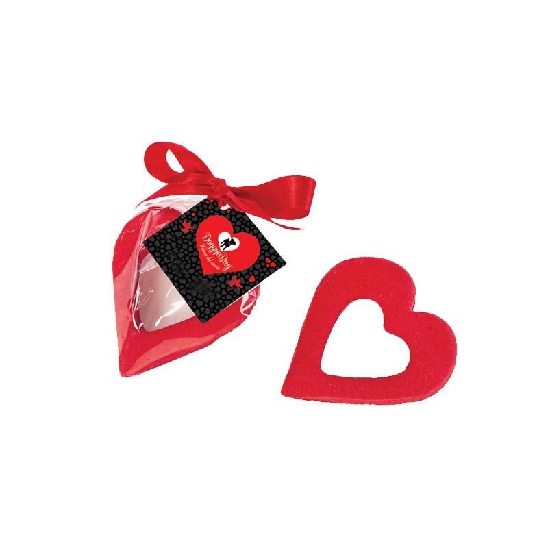 Doggye Bag Biscotto Amami Cuore Rosso