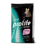 Prolife Cat Life Style Kitten Salmone e Riso