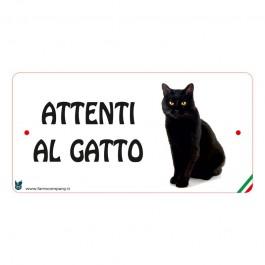 Farm Company Targa Attenti al Gatto Nero