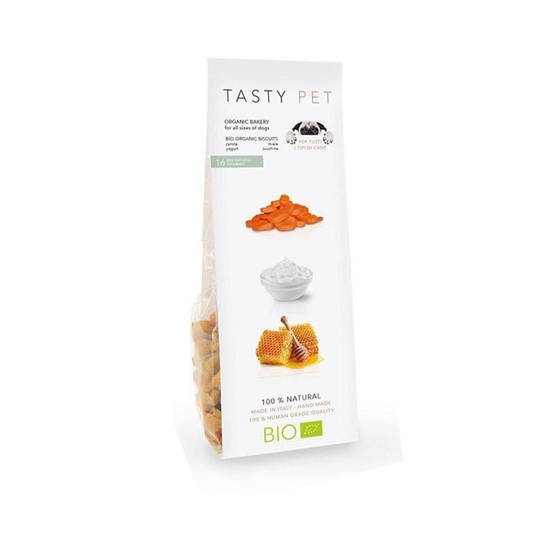 Tasty Pet Biscotti Vitamins Bio Naturali Miele e Yogurt