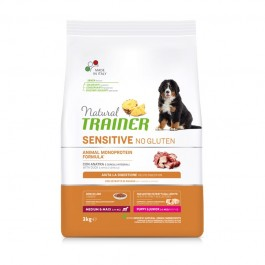 Trainer Natural Sensitive No Gluten Puppy & Junior Medium - Maxi con Anatra