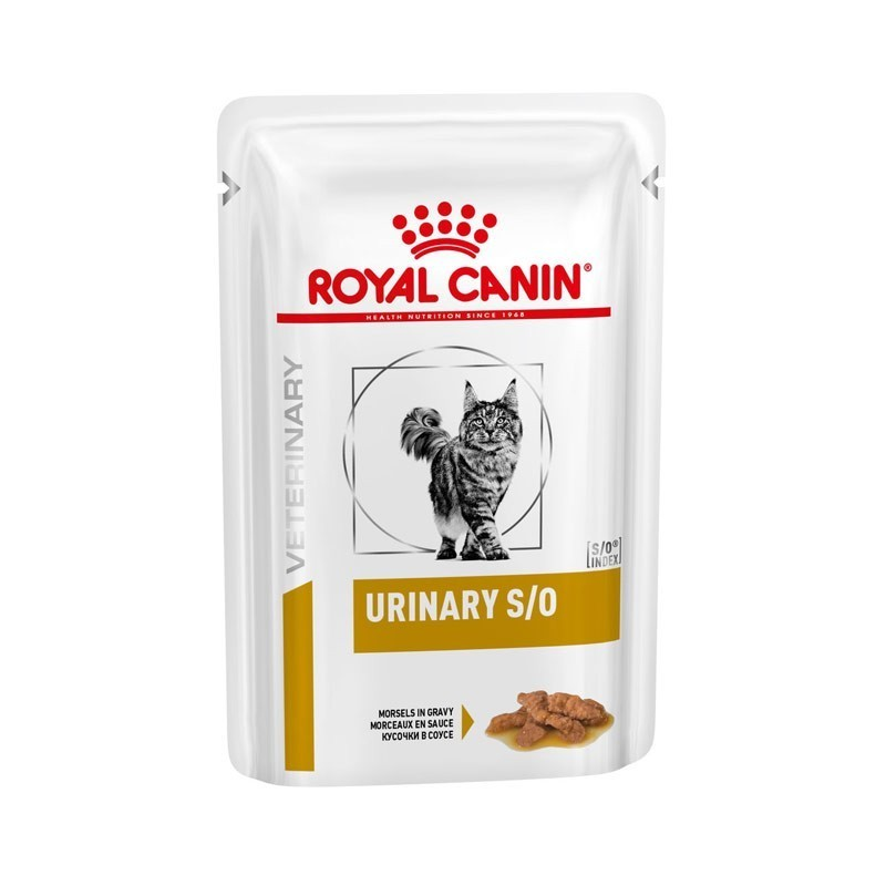 Royal Canin V-Diet Urinary S/O Gatto al Pollo in Salsa Busta