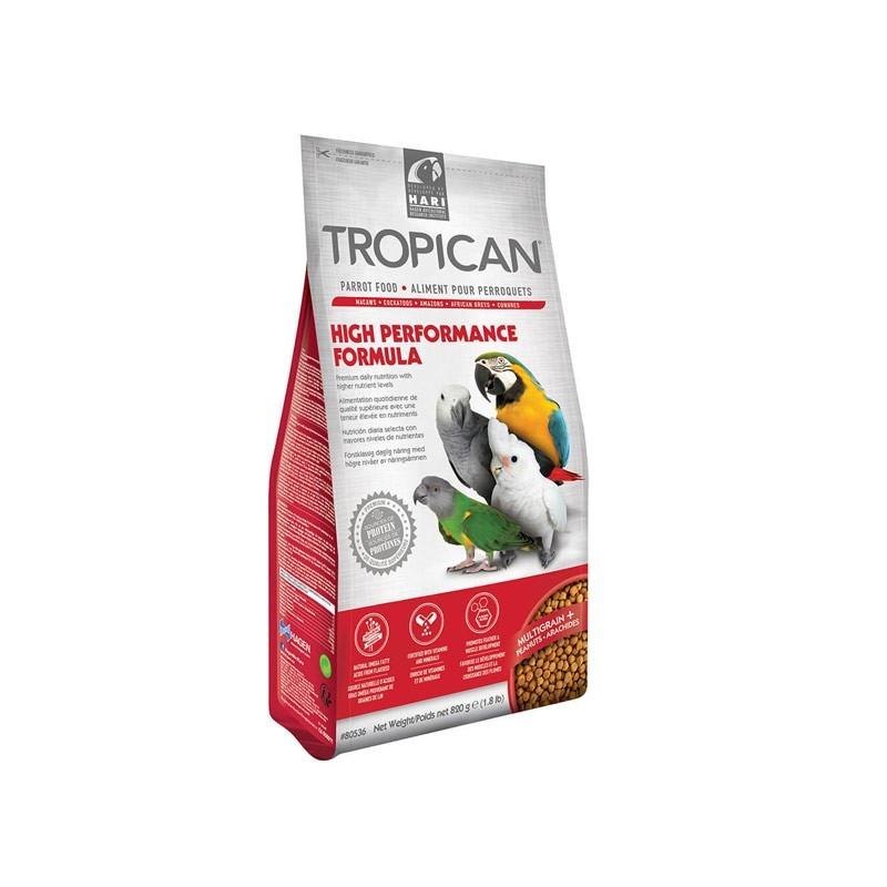 Hari Tropican High Performance Formula per Pappagalli