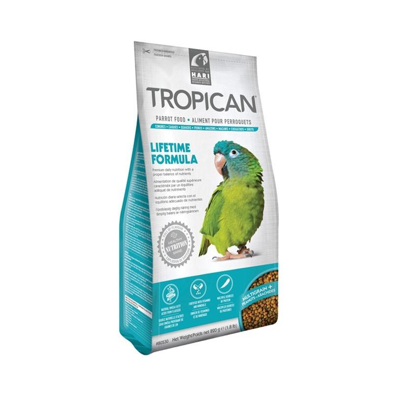 Hari Tropican Lifetime Formula 4mm per Pappagalli