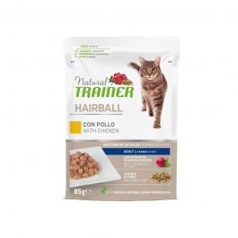 Natural Trainer Hairball Pollo per Gatti in Busta