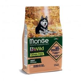 Monge Dog BWild Grain Free Adult Salmone e Piselli