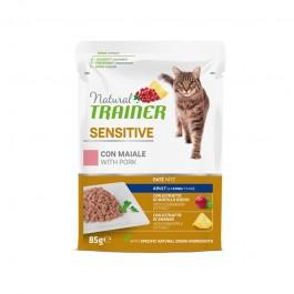 Natural Trainer Sensitive Maiale per Gatti in Busta