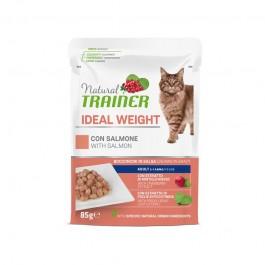 Natural Trainer Ideal Weight Salmone per Gatti in Busta