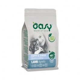 Oasy One Animal Protein Puppy & Junior Small/Mini Agnello