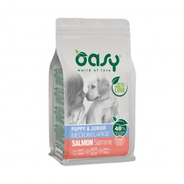 Oasy One Animal Protein Puppy Medium/Large Salmone Per Cani