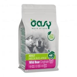 Oasy One Animal Protein Adult Medium/Large al Cinghiale per Cani