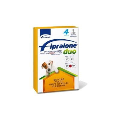 Formevet Fipralone Duo Spot-On per Cani di Piccola Taglia