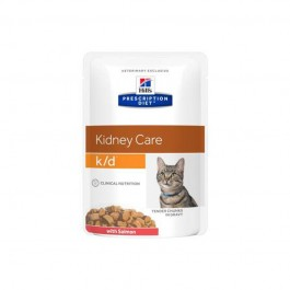 Hill's k/d Prescription Diet Feline Salmone Busta 85g