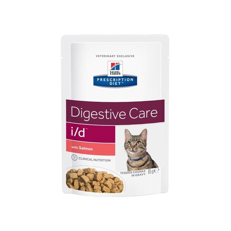 Hill's i/d Prescription Diet Feline Busta 85g Salmone
