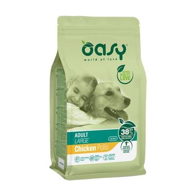 Oasy Adult Large al Pollo per Cani