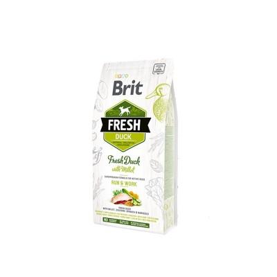 Brit Fresh Dog Adult All Breeds Anatra e Miglio