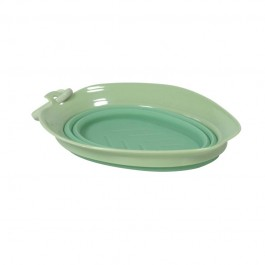 United Pets Ciotola Leaf Bowl Verde