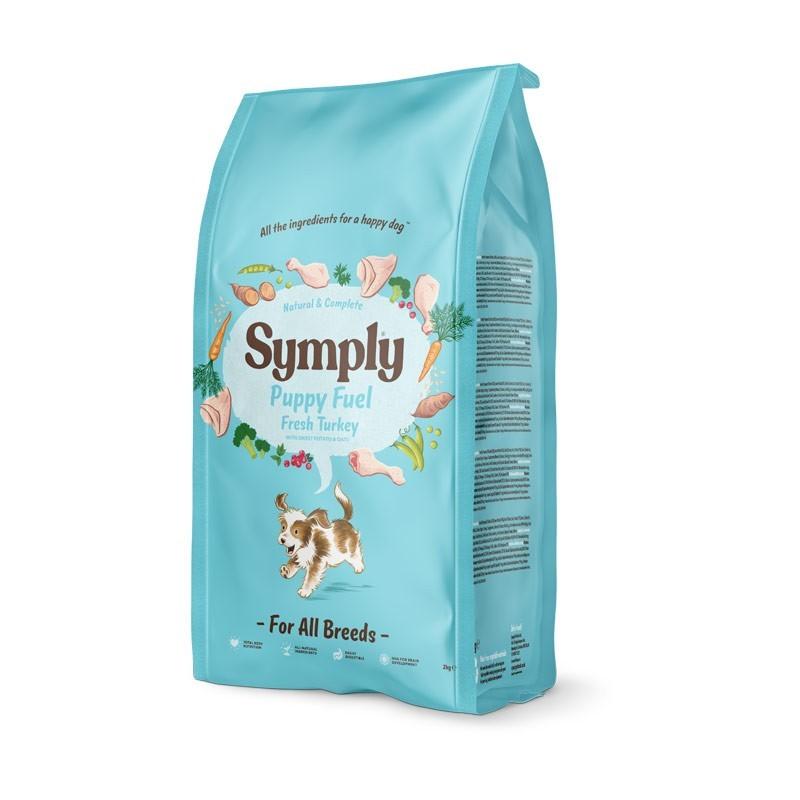 Simply Puppy Fuel All Breeds Tacchino Fresco, Patata Dolce e Avena