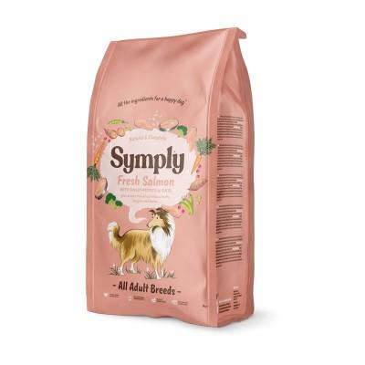 Symply Adult All Breeds Salmone Fresco, Patata Dolce e Avena