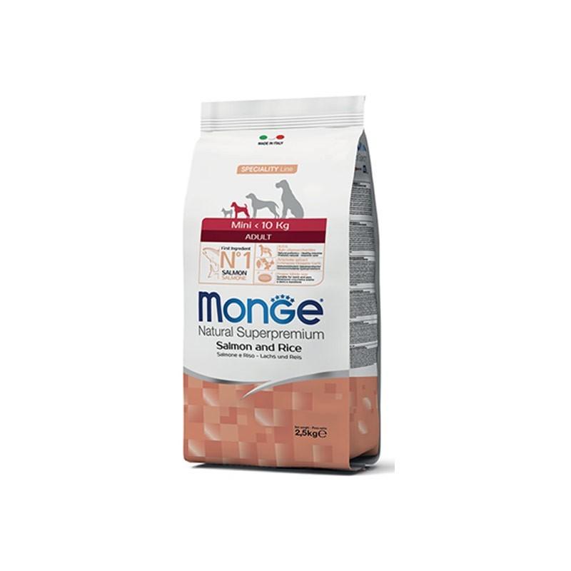 Monge Dog Mini Adult  Salmone e Riso