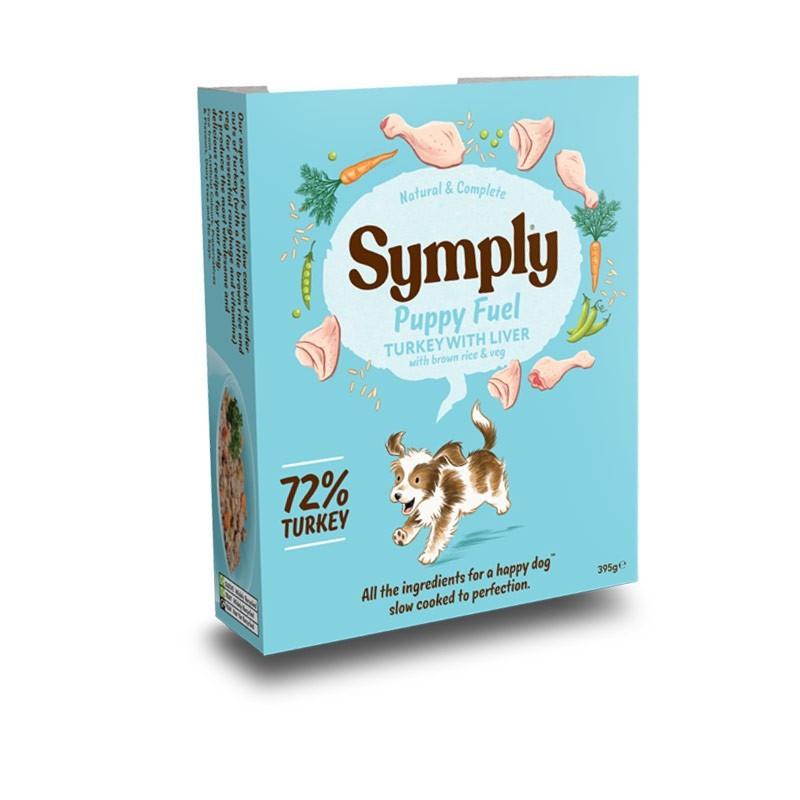 Symply Puppy Fuel Tacchino con Fegato e Riso Integrale Umido