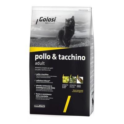 Golosi Cat Adult Pollo, Tacchino e Riso