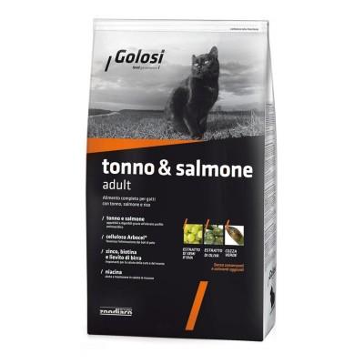 Golosi Cat Adult Tonno, Salmone e Riso