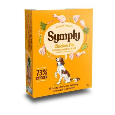 Symply Pollo con Riso Integrale e Verdure Umido per Cani