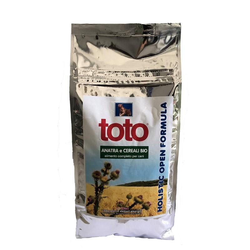 Toto Holistic Open Formula Anatra e Cereali Bio