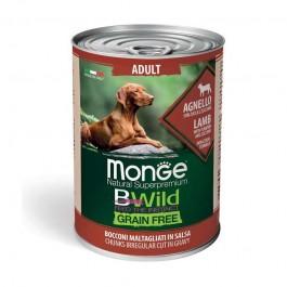 Monge Dog BWild Grain Free Adult Agnello con Zucca e Zucchine