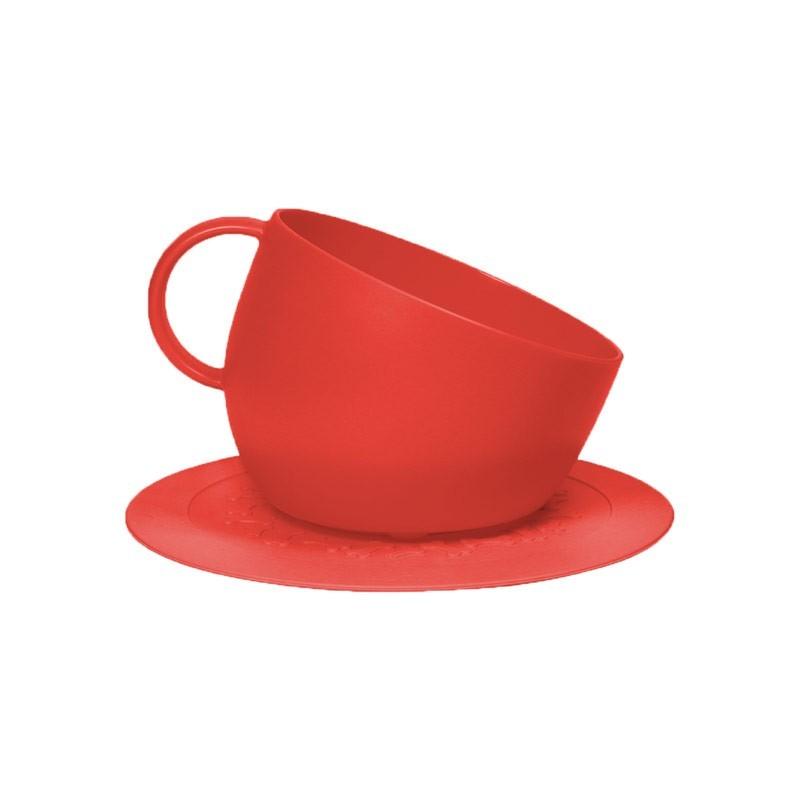 United Pets Cup Ciotola e Tappetino Rosso