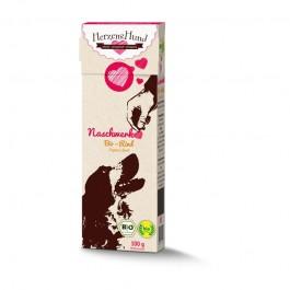 Herzens Hund Snack Manzo Biologico per Cani