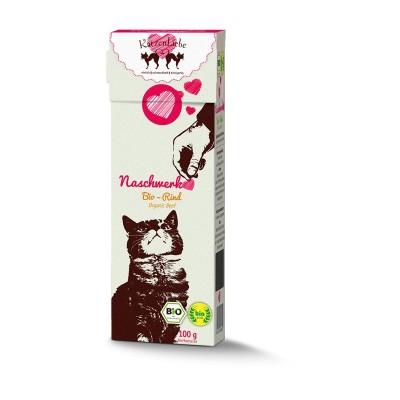 Katzen Liebe Snack Manzo Bio