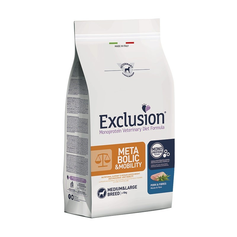 Exclusion Vet Diet Metabolic & Mobility Medium & Large Breed