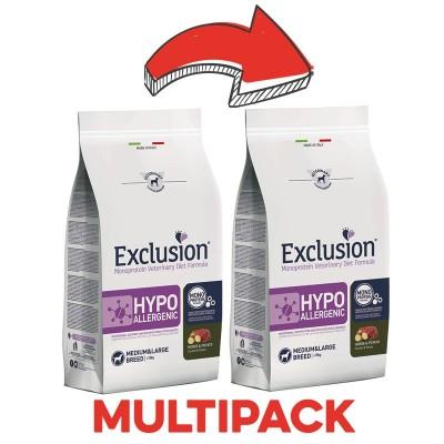Exclusion Vet Diet Hypoallergenic Cavallo e Patate Medium & Large Breed
