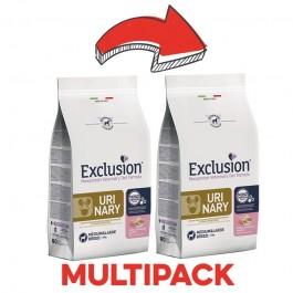 Exclusion Vet Diet Urinary Maiale e Sorgo Medium & Large Breed