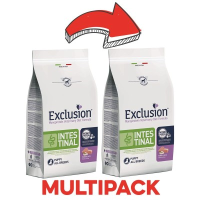 Exclusion Vet Diet Intestinal All Breeds Puppy Maiale e Riso