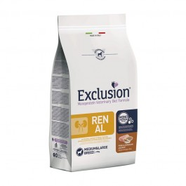 Exclusion Vet Diet Renal Adult Medium & Large Breed Maiale e Sorgo