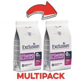 Exclusion Vet Diet Hypoallergenic Medium & Large Breed Maiale e Piselli